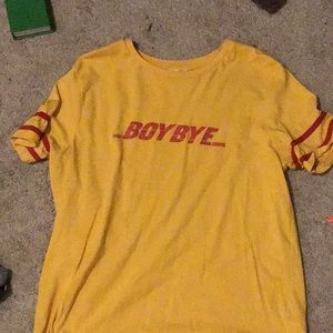 Blue notes: boy bye shirt(new style)